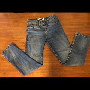 """Levi's 502 Tapered Leg """"Washed Up"""" Boys 8 R"""